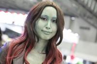 『東京コミコン2018』コスプレイヤー・Shizukuさん<br>(『ガーディアンズ・オブ・ギャラクシー:リミックス』ガモーラ)