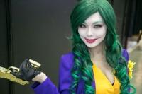 『東京コミコン2018』コスプレイヤー・maruさん<br>(『女性版ジョーカー』ジョーカー)