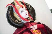 『東京コミコン2018』コスプレイヤー・パドメ・アミダラさん<br>(『スター・ウォーズ』パドメ・アミダラ)