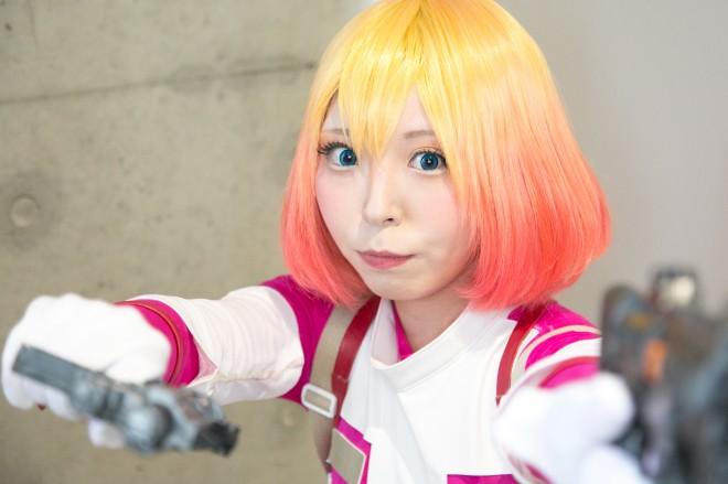 『東京コミコン2018』コスプレイヤー・hmyさん<br>(『グウェンプール』グウェンプール)