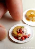 【朝食のパンケーキ】制作・写真/Nunu's House(田中智)