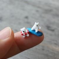 【マッチ箱で氷山ビーチ】制作:みすみ工房(みすみともこ)