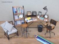【仕事部屋2】写真&制作/中川さえ