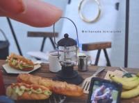 【ランタンとサンドイッチ】写真&制作/中川さえ