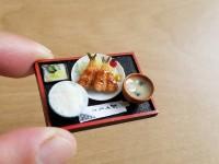【アジフライ定食】制作&写真/yama