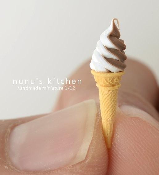 【ソフトクリーム】制作・写真/Nunu's House(田中智)