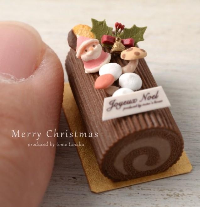 【クリスマスケーキ】制作・写真/Nunu's House(田中智)