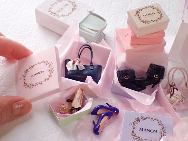 【バッグと靴】制作&写真:manon