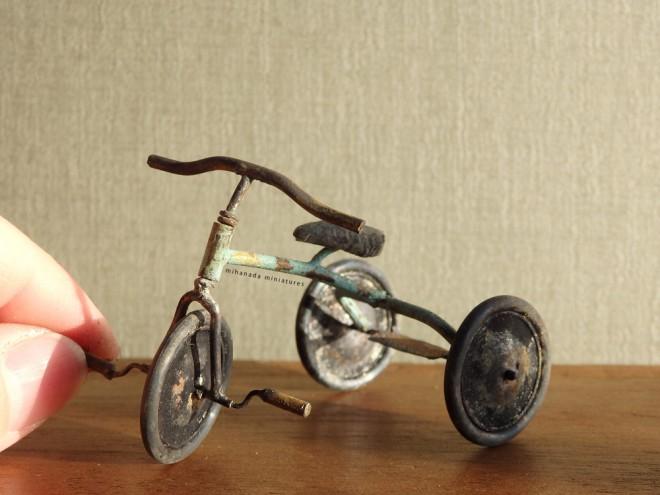 【三輪車】写真&制作/中川さえ