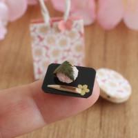 【わっぱに入った春の和菓子セット】制作:みすみ工房(みすみともこ)