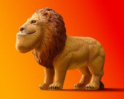 人気はシリーズ第1弾のパンダとライオン。いかつさ倍増なのに