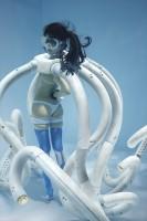 「水中ニーソ」モデル:真縞しまりす/メカデザイン+造形:島本娼弘