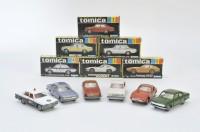 歴史は6台から始まった、70年初代の「トミカ」