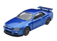 「トミカプレミアムRS」第2弾『日産 スカイライン GT-R V・specII Nur(ベイサイドブルー)』(税抜3500円)