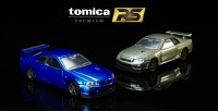 『トミカプレミアムRS 日産 スカイライン GT-R V・specII N?r(左:ベイサイドブルー/右:ミレニアムジェイド)』(各 税抜3500円)