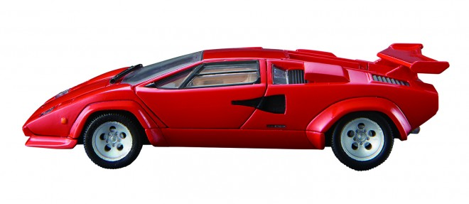 『トミカプレミアム RS Lamborghini Countach LP 500 S』(税抜3500円)