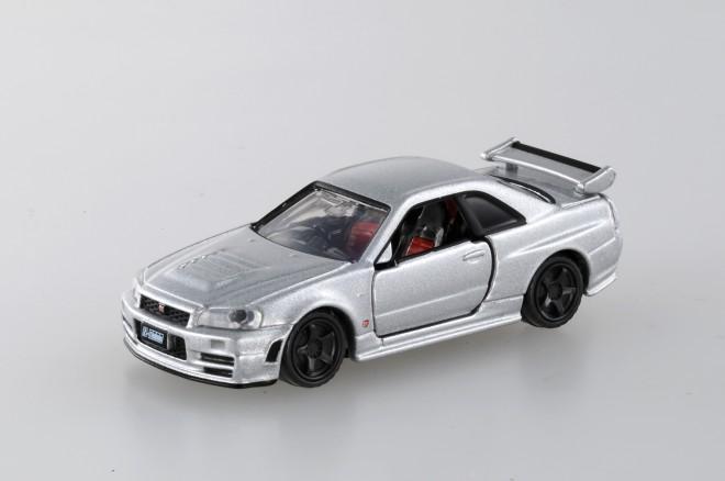 「トミカプレミアム」累計販売数ランキング1位『トミカプレミアム No.01 NISMO R34 GT-R Z-tune』(税抜800円)