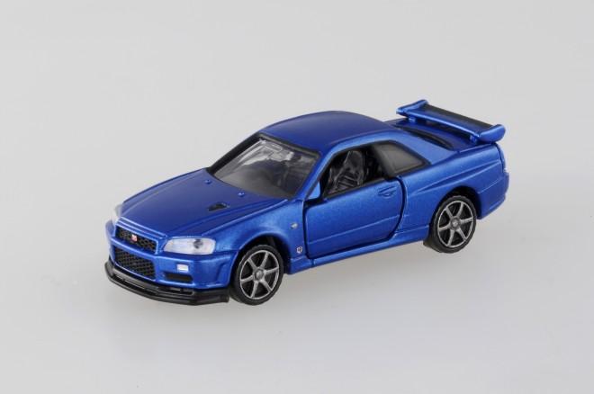 「トミカプレミアム」年間販売数ランキング5位『11 日産 スカイライン GT-R V-SPECII Nur』(税抜800円)