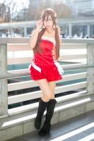 『acosta!@さいたまスーパーアリーナTOIRO』コスプレイヤー・Reiさん<br>(『新世紀エヴァンゲリオン』真希波・マリ・イラストリアス)