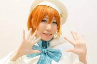 『acosta!@さいたまスーパーアリーナTOIRO』コスプレイヤー・空春さん<br>(『ラブライブ!』星空凛)
