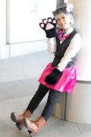 『acosta!@さいたまスーパーアリーナTOIRO』コスプレイヤー・柚葉さん<br>(『アイドリッシュセブン』百(モモ))