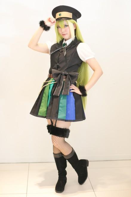 『acosta!@さいたまスーパーアリーナTOIRO』コスプレイヤー・こやさん<br>(『マギアレコード』アリナ・グレイ)