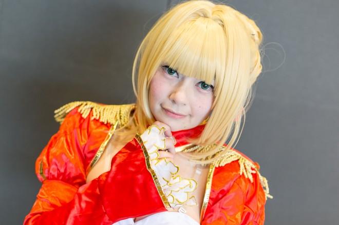 『acosta!@さいたまスーパーアリーナTOIRO』コスプレイヤー・一岡美羽さん<br>(『FGO』ネロ)