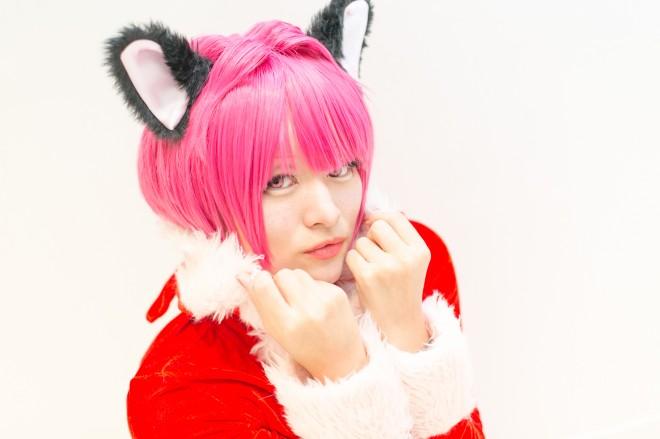『acosta!@さいたまスーパーアリーナTOIRO』コスプレイヤー・さくらこさん<br>(『東京ミュウミュウ』ミュウイチゴ)