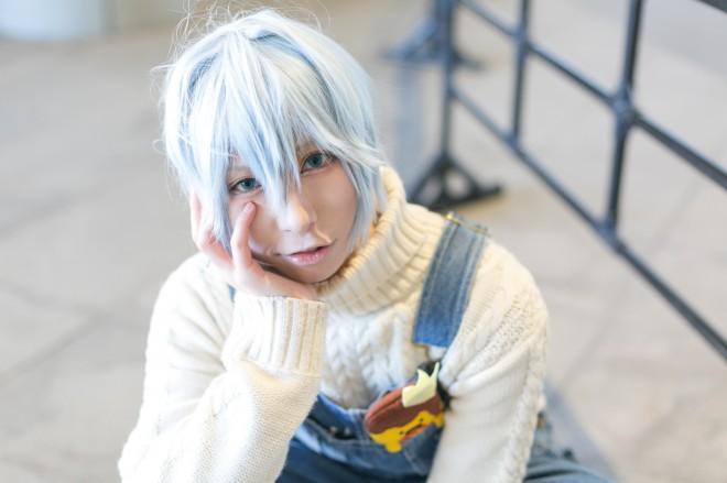 『acosta!@さいたまスーパーアリーナTOIRO』コスプレイヤー・茶いさん<br>(『アイドリッシュセブン』四葉環)