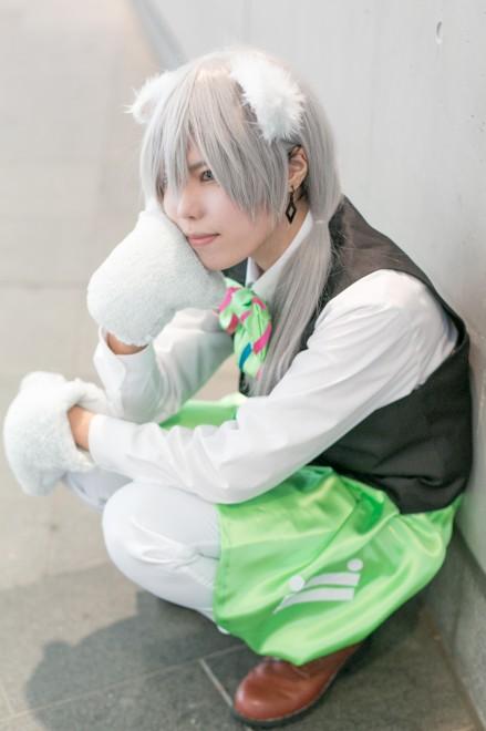 『acosta!@さいたまスーパーアリーナTOIRO』コスプレイヤー・くうさん<br>(『アイドリッシュセブン』千(ゆき))