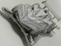 作:h-yanagiさん まるで二次元!線画で表現されたミニ四駆
