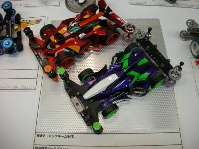 『EVA-01 & EVA-02』(作:マブダチモーター鈴木さん)