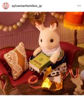 「プレゼントは何かしら♪」わくわくしながらプレゼントをあけたショコラウサギのお姉さん 「え…歴史の本…?」