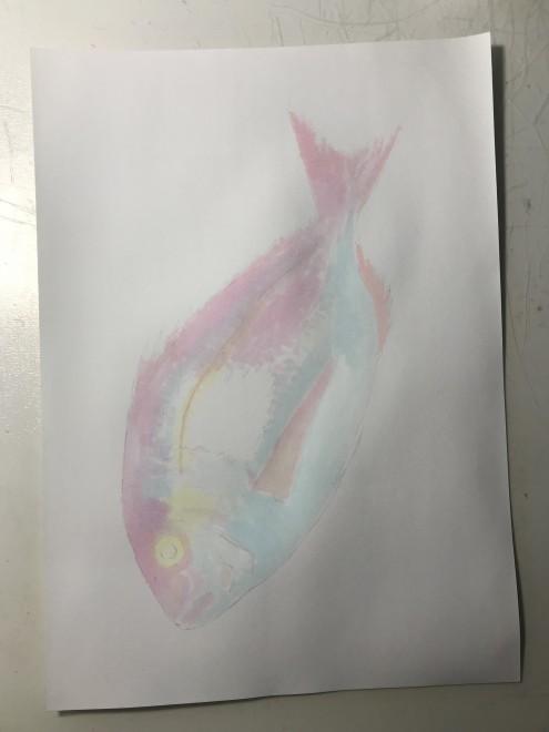 鯛 制作過程