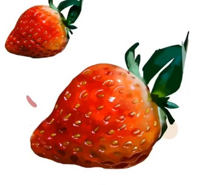 イチゴ:制作過程