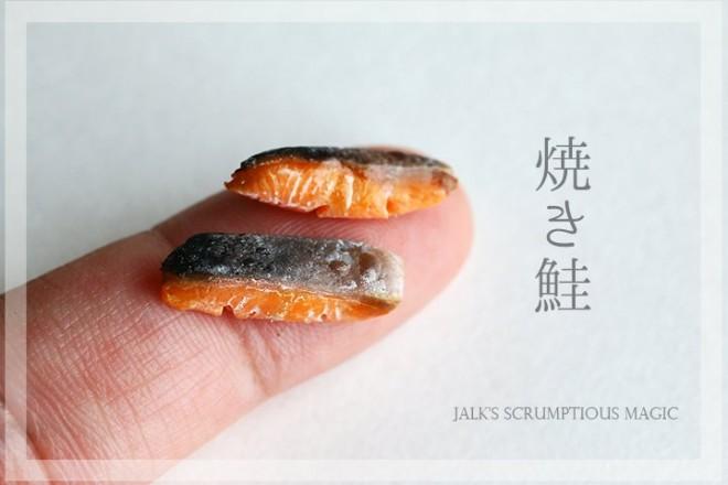 【焼き鮭】制作&写真:しろくまパン