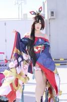 『コミックマーケット95(コミケ95)』コスプレイヤー・ヒカベベさん<br>(『陰陽師』妖刀姫)