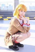 『コミックマーケット95(コミケ95)』コスプレイヤー・ゆふぃあんさん<br>(『ラブライブ!サンシャイン!!』高海千歌)