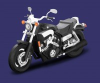 バイク 細密 VMAX表紙
