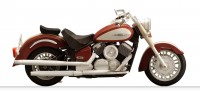 バイク 細密 DRAGSTAR classic
