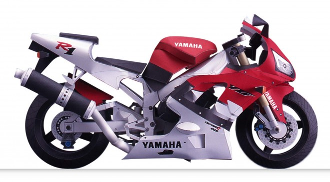 バイク 細密 YZF-R1