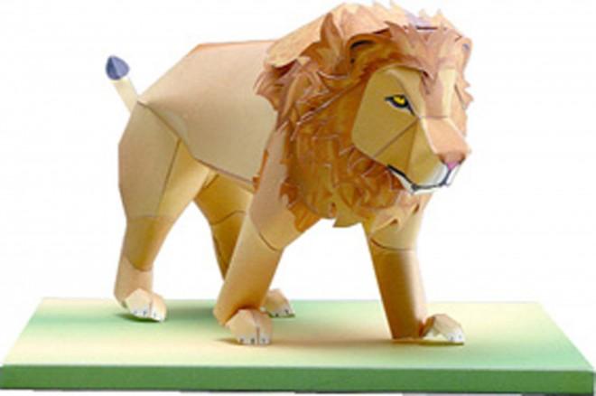 希少動物 ライオン