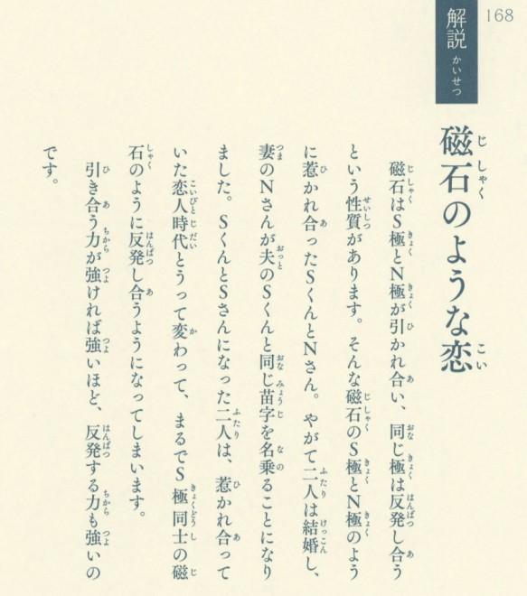★解説「磁石のような恋」(『54字の物語』収録)