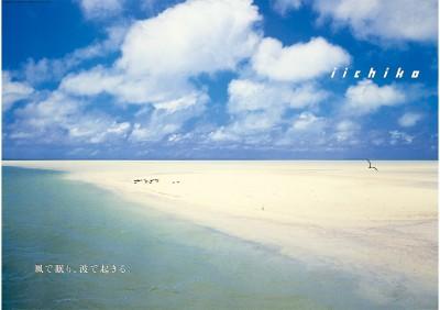 「いいちこ」1996年6月のポスター