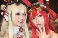 『闘会議2019』コスプレイヤー・ありささん<br>(『Beatmania ?DX』ヒメル) / ゴリウータンさん<br>(『Beatmania ?DX』梅桐天土)