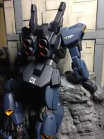 作品名:「黒いガンダム」 解説:機動戦士Zガンダム 第1話を再現 製作:まつおーじ