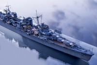 作品名:1/700 旧日本海軍水上機母艦「日進」 製作:R工廠
