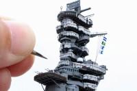 作品名:1/700 旧日本海軍戦艦「扶桑」艦橋 製作:R工廠