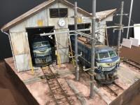 作品:電気機関車 EF66 後期型と電気機関車 EF66 前期型/制作※合作:あに、taka