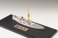 解説:艦内の牛舎まで再現した(見えない)、K-5氏の代表作 防護巡洋艦 松島(2017年2月完成)/制作:K-5(@battleship_5)